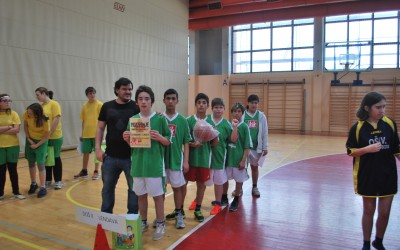 Tekmovanje v košarki / Kosárlabda verseny