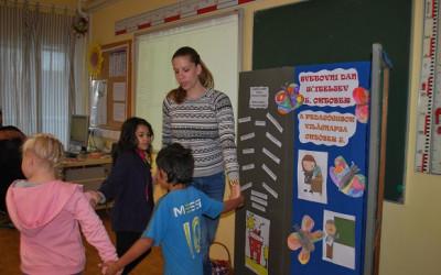 5. oktober- Svetovni dan učiteljev/Október 5. –  A pedagógusok világnapja