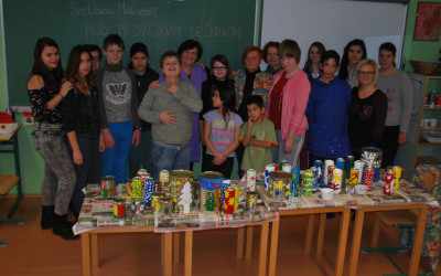 Delavnice ob svetovnem dnevu prostovoljstva z dijaki dvojezične srednje šole Lendava in društvom za pomoč v stiski »Zarja« Lendava