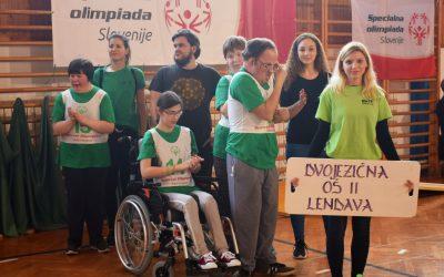 Specialna olimpiada Slovenije/ Speciális olimpiáda