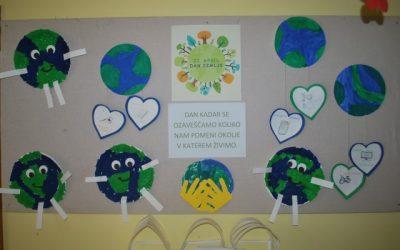 22. aprila praznujemo Svetovni dan Zemlje/ Április 22. a Föld napja