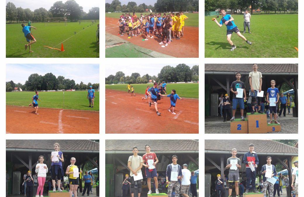 Področno tekmovanje v atletiki/ Területi atlétika verseny