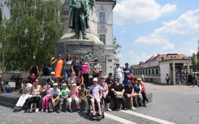 Šolska ekskurzija v Ljubljani/ Tanulmányi kirándulás Ljubljanában
