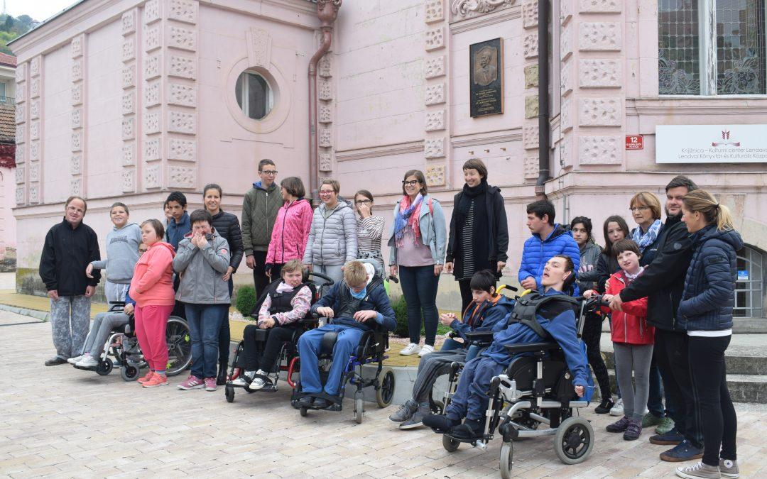 Obisk učencev OVI oddelka iz Murske Sobote/ A muraszombati tanulók ellátogattak hozzánk