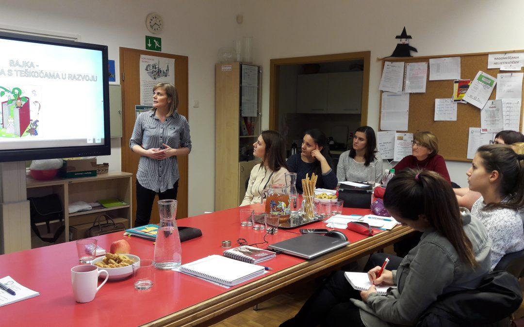 Sodelovanje s Centrom za odgoj i obrazovanje Čakovec/ Együttműködés a csáktornyai iskolával