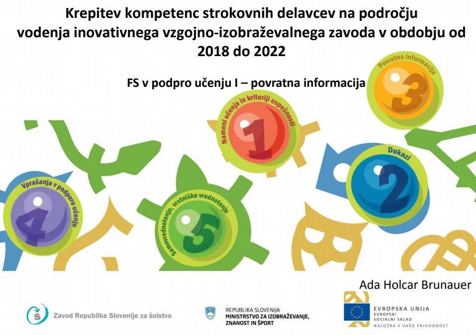Izobraževanje; uvajanje formativnega spremljanja in inkluzivne paradigme/ Továbbképzés a formatív értékelés és inkluzív paradigma bevezetésével kapcsolatosan