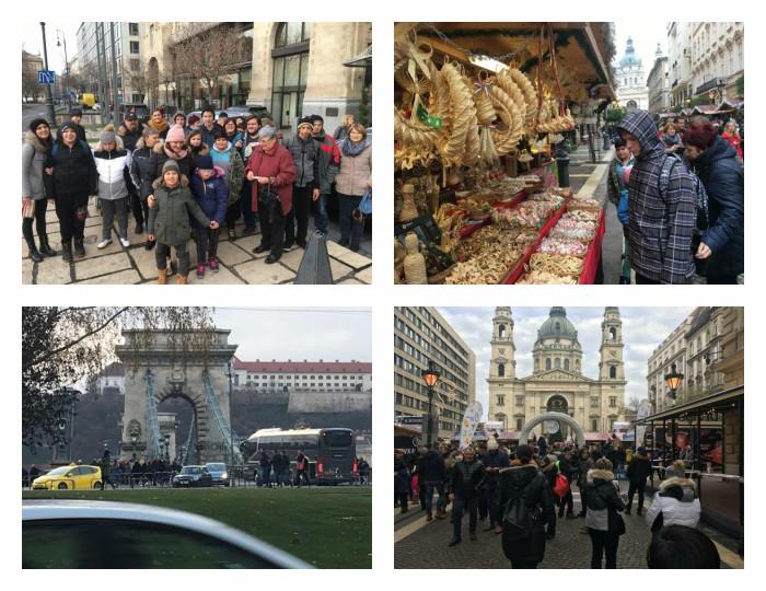 Na božični tržnici v Budimpešti/ Karácsonyi vásáron Budapesten
