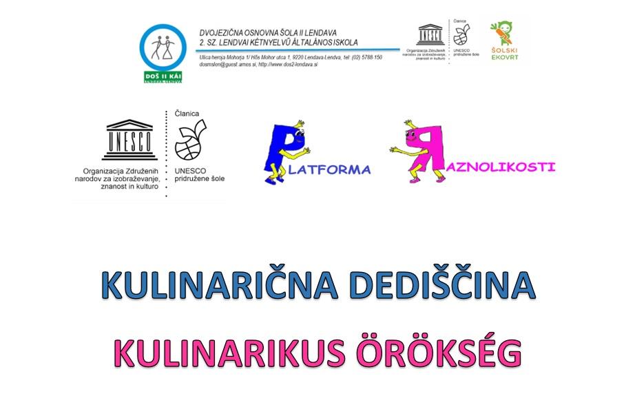 UNESCO: Kulinarična dediščina/ Kulinarikus örökség