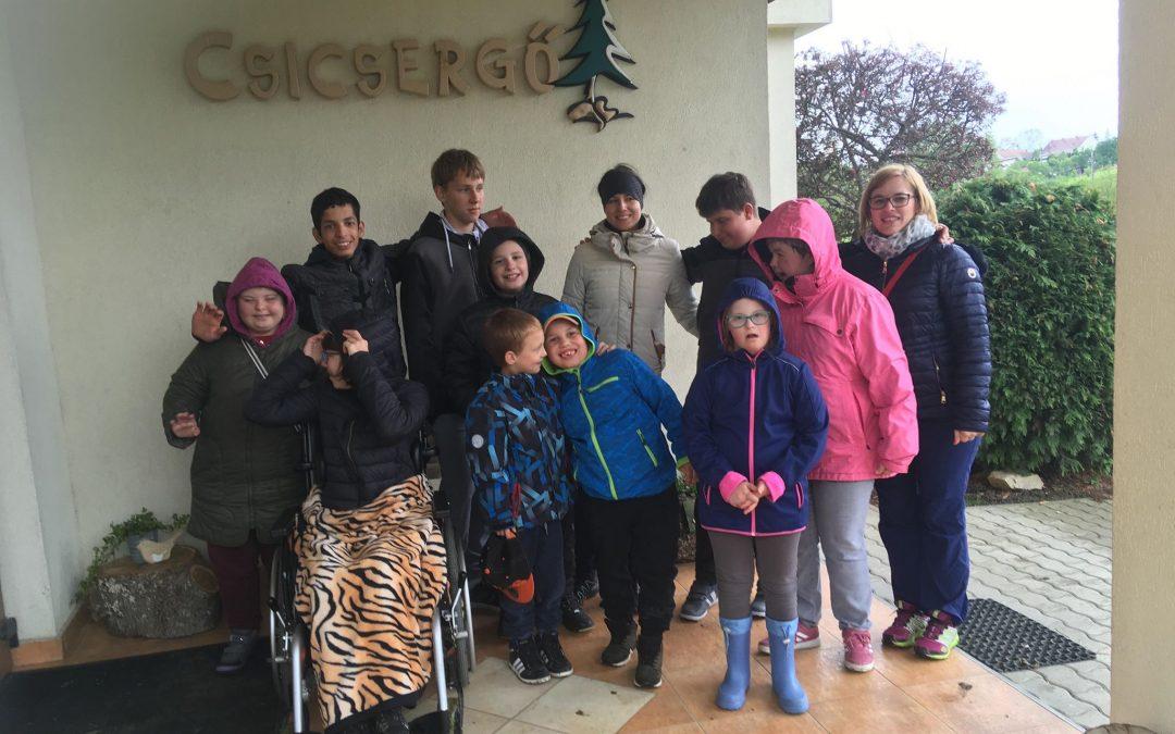 Šola v naravi v Novi na Madžarskem/ Erdei iskola Nován