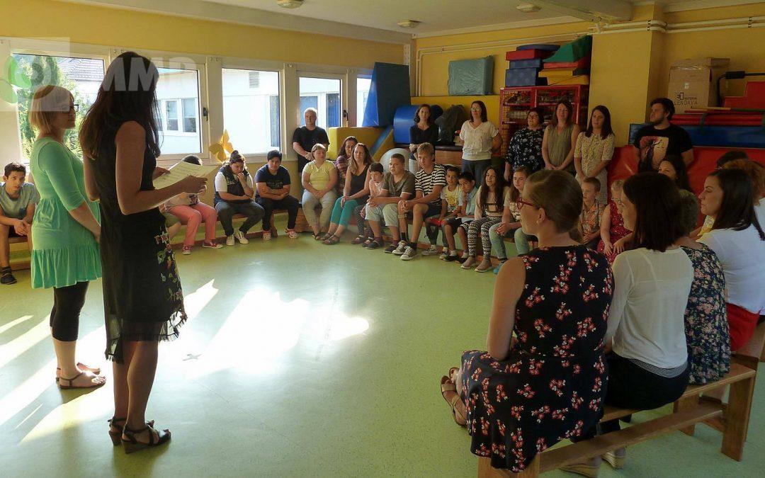 Prvi šolski dan/ Első iskolai nap
