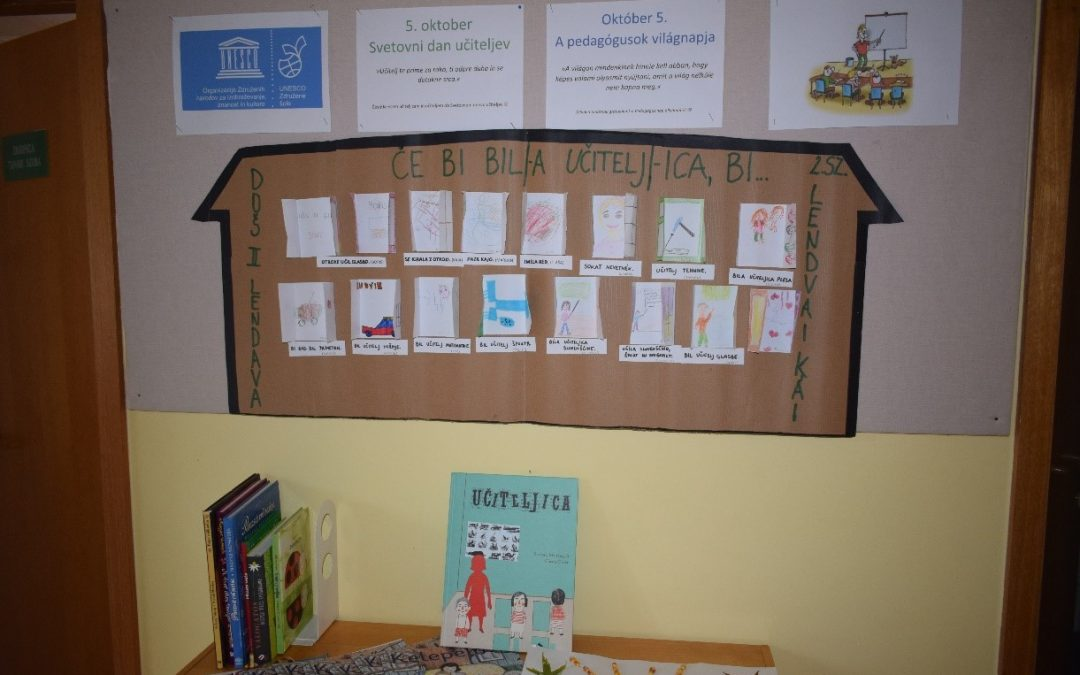 UNESCO: 5. oktober – Svetovni dan učiteljev/ Október 5. – A pedagógusok világnapja