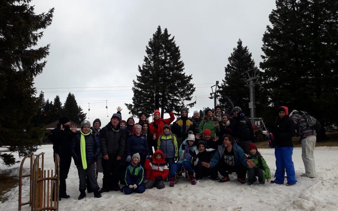 Zimski športni dan na Rogli/Téli sportnap Roglán