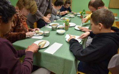 Tradicionalni slovenski zajtrk/ Szlovén hagyományos reggeli