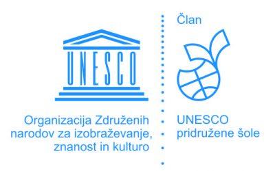 Postali smo pridruženi člani UNESCO šol/ UNESCO iskola lettünk