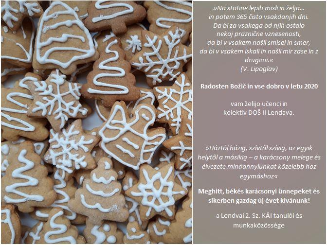 Voščilo – Karácsonyi üdvözlet