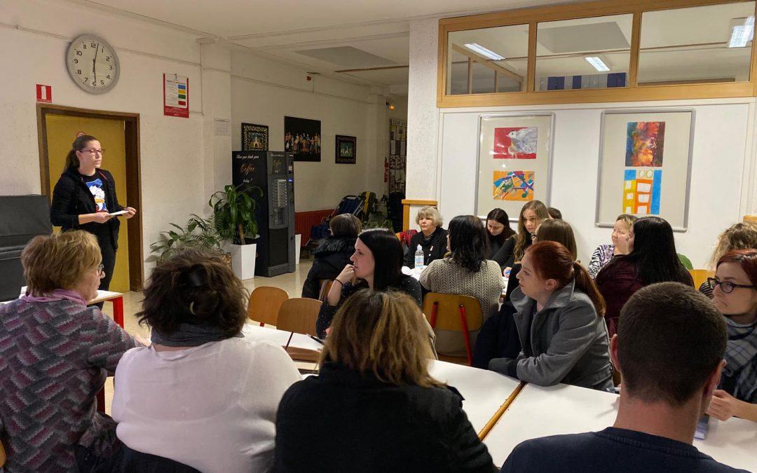 Predstavitev gibalne terapije v Čakovcu/ A mozgásterápia bemutatása Csáktornyán