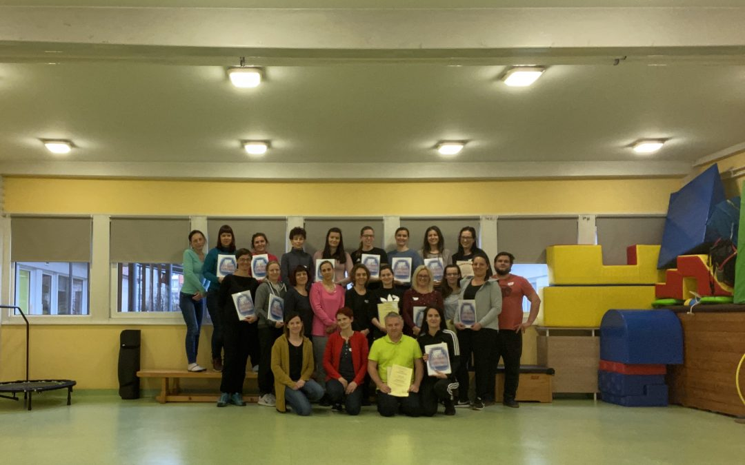 Seminar Gradniki gibanja/ Továbbképzés »A mozgás építőelemei« címmel