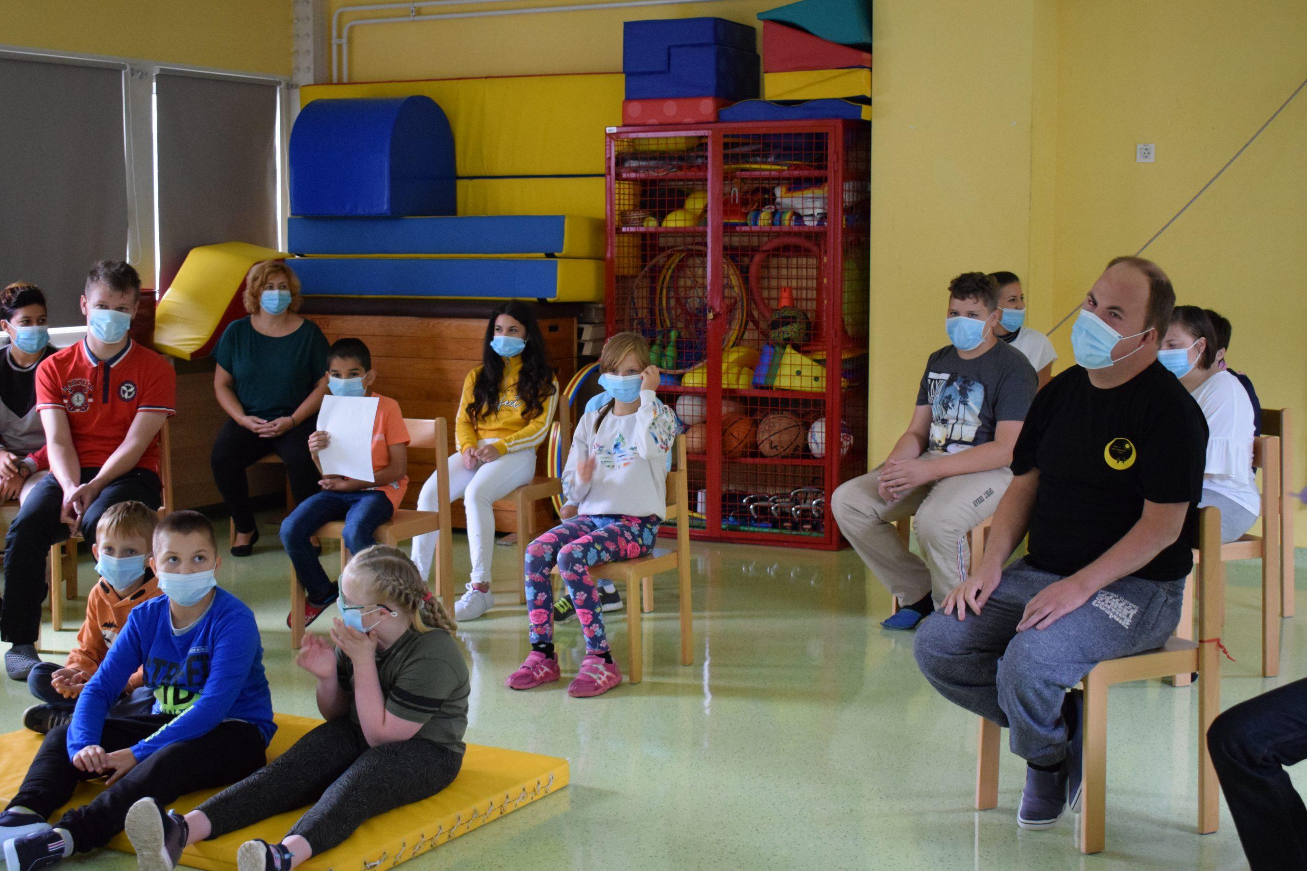 Prvi šolski dan / Az első iskolai nap